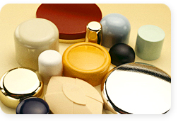 Urochem molding compounds are available in an unlimited range of colors.
